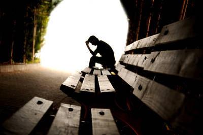 Man alone and depressed - Mutual Awakening interview
