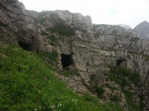 Caves in Italian Alps