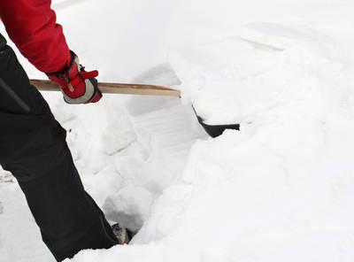 Shovelling snow - Focus on purpose not task