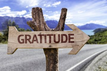 Gratitude sign - The Gratitude Challenge