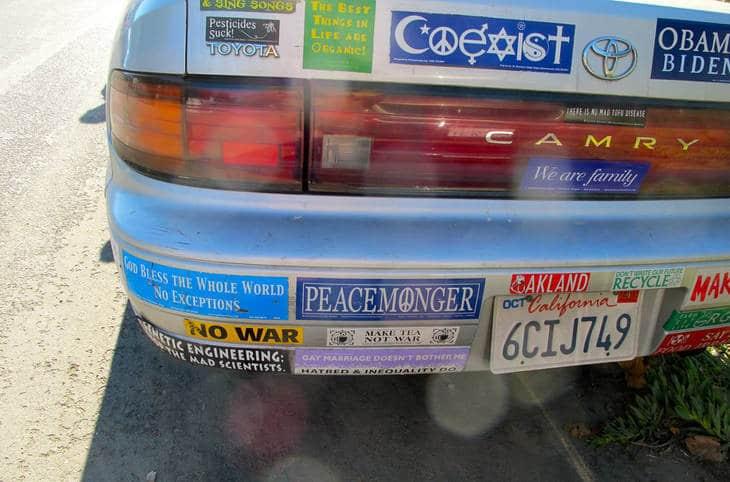 Bumper stickers - Bumper sticker wisdom