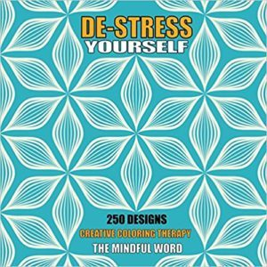 Front cover of book - De-Stress Yourself