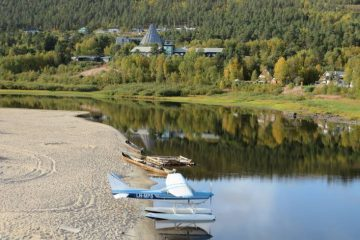 River by the Sami Parliament - Land and language