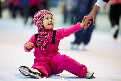 Child on ice - In the midst of grief