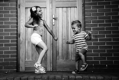 Kids dancing - Put your whole self in