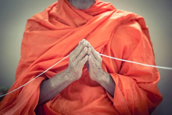 Monk praying - The Monk's Tale