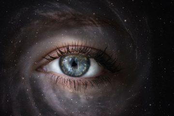 Eye in the galaxy