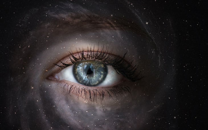 Eye in the galaxy