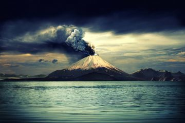 Volcano - Three poems by Max Reif