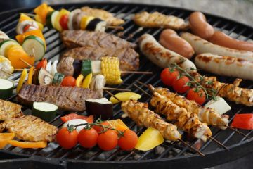barbecue - 3 ways to eat simply