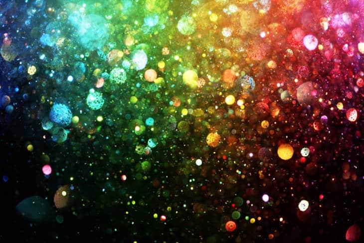 Rainbow of lights - Unlocking the mind's power