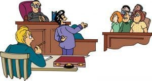 Witness lying in court