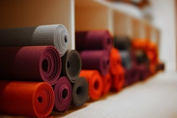 Yoga mats - Poems to end yoga class