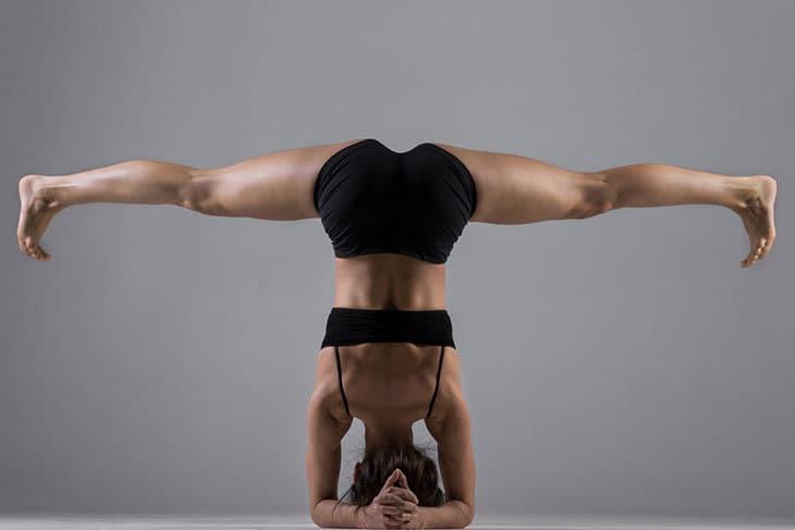 Sankalpa - woman doing yoga