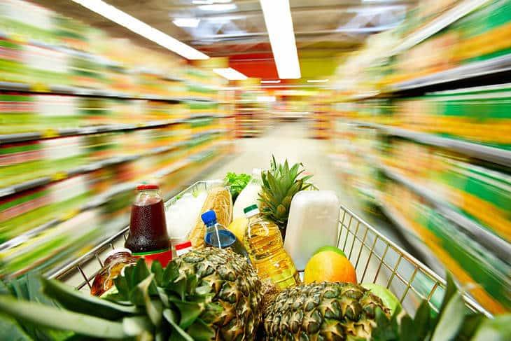Grocery shopping - mundane life