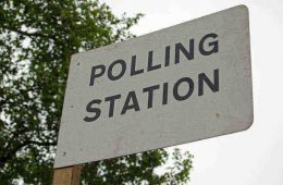 polling station sign - how to stay tuned in to an election campaign