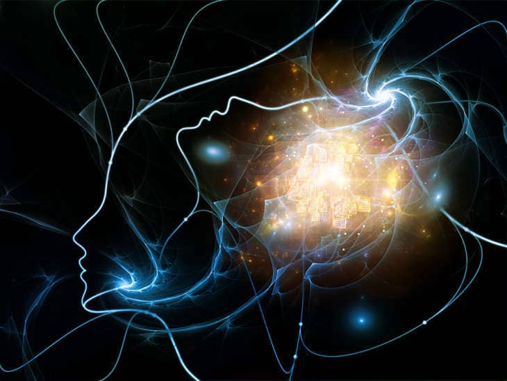 Connected mind in space