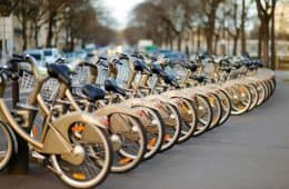 Bikes for rent - green franchise