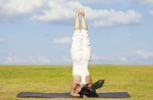 Sirsasana Headstand yoga pose