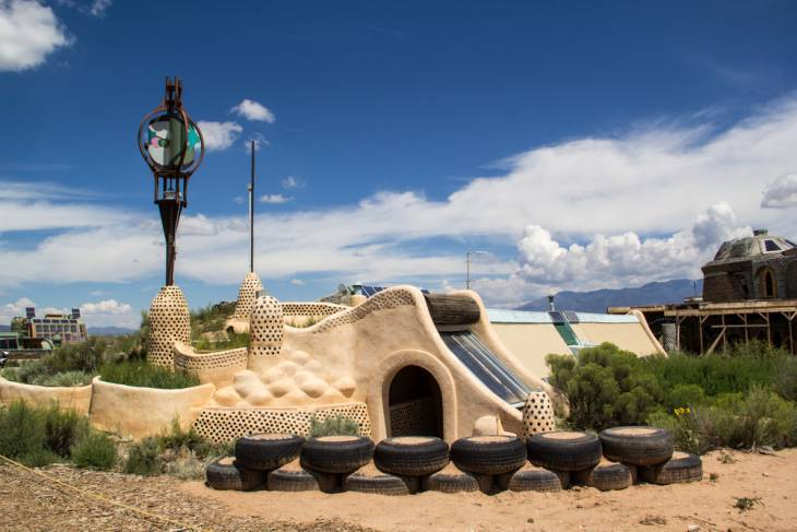 Earthship in Taos, NM