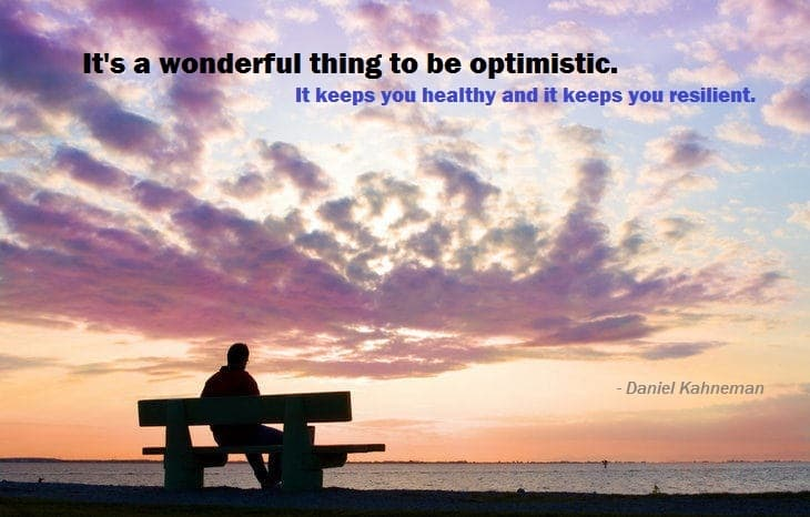 Quote on optimism and positive thinking