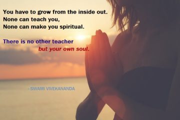 spiritual - swami vivekananda - hands - prayer - sunset