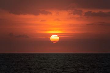 Beach Clouds Sunset - Friedrich Nietzsche quotes