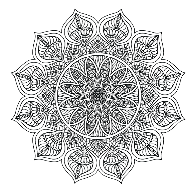 mandala coloring pages meaningful quotes - photo#33