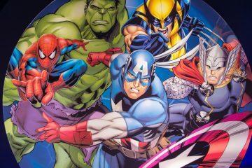 Marvel Avengers in Madam Tussauds, Hong Kong
