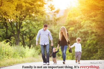 family-love-important-walk
