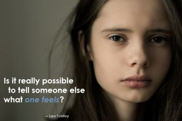 leo tolstoy - feelings - sad - girl
