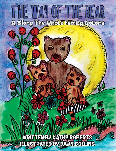 The Way of the Bear - Family Coloring Storybook