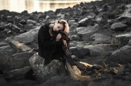 sad woman - grief quotes