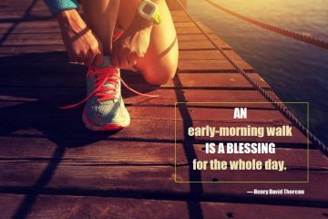 walk - morning - exercise - blessing - wellbeing