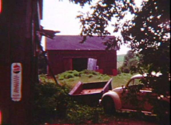 Barn with old car - Poems by Max Reif