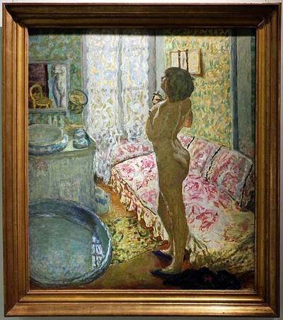 Pierre Bonnard painting - Poems by Max Reif