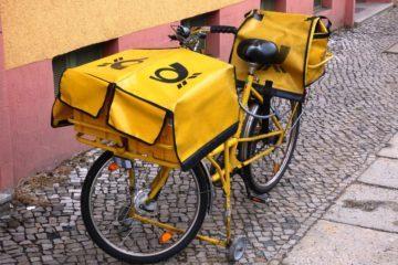 Postal delivery bike