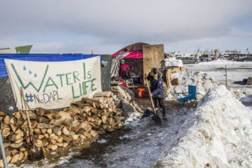 Standing Rock protest sign - LaRose and the
