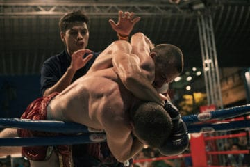 Boxers in a ring