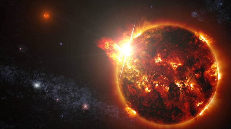 Flares from a mini star - Poems by Charles Darnell