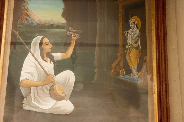 Mirabai and Krishna - Bhakti and The Great American Songbook