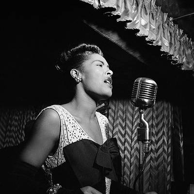 Billie Holiday performing - Bhakti and The Great American Songbook