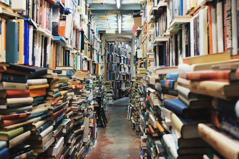 Room full of books - Daycare dropout
