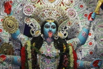Hindu Goddess Kali - Today's mad world