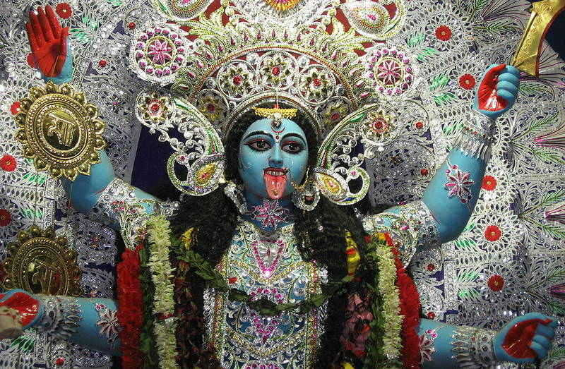 Hindu Goddess Kali - Today's mad world