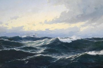 Ship in rough ocean water - Poems by Michael Seeger
