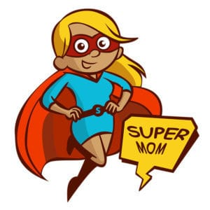 Supermom cartoon