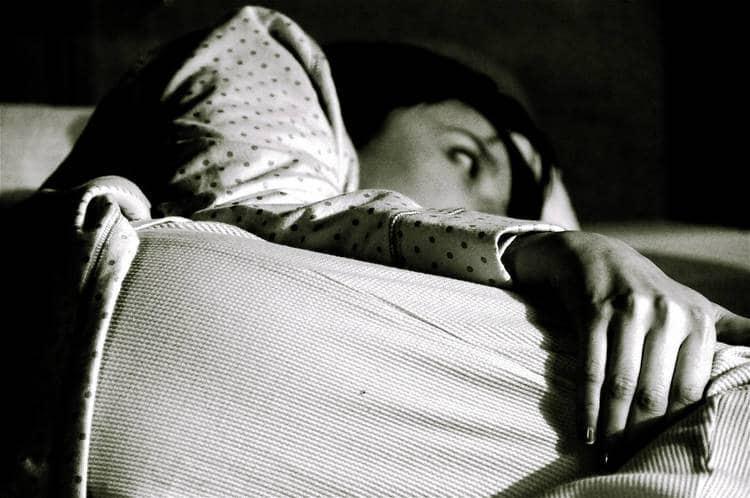 Woman awake due to insomnia - Kundalini awakening