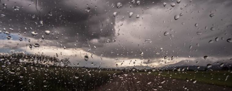 Rain on car windshield - Poems by Robyn Phillips
