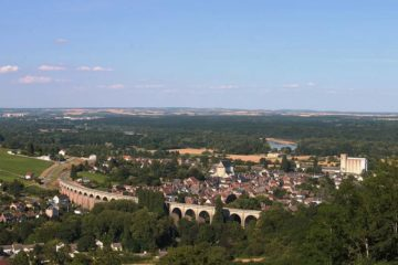 Loire Valley view from far away, up high - Fiction as therapy